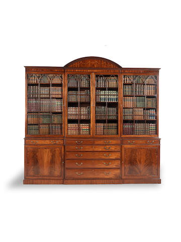 Gillows large cabinet