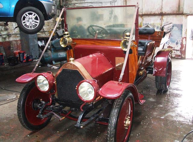 1917 Fiat Waggonette