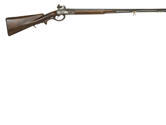 A German 20-Bore D.B. Flintlock Sporting Gun