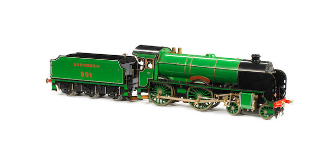 Aster gauge I live steam Southern Maunsell 4-4-0 Schools class Winchester and tender No.901