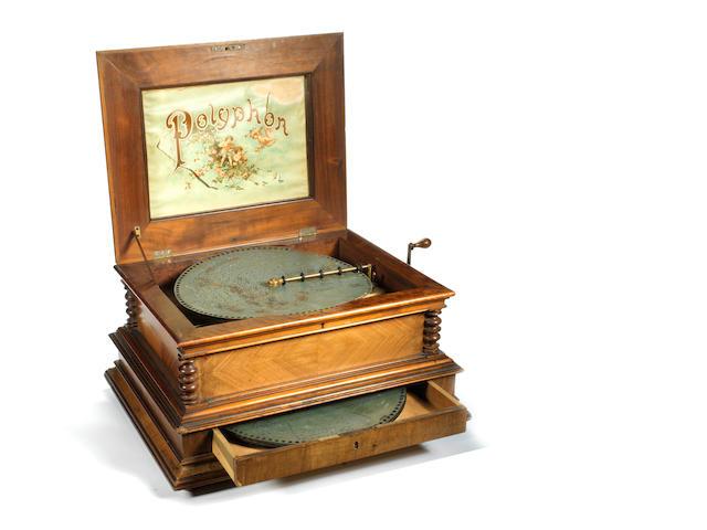 15 1/2 ins polyphon  German circa 1900