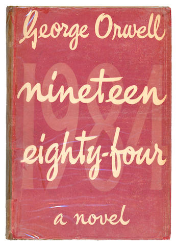 ORWELL (GEORGE)  Nineteen Eighty-Four, 1949; and another (2)