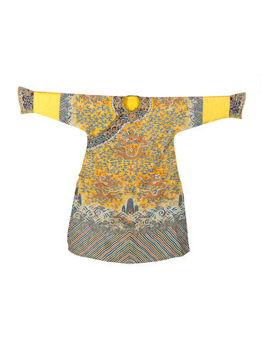 An Imperial kesi silk robe Late Qing Dynasty