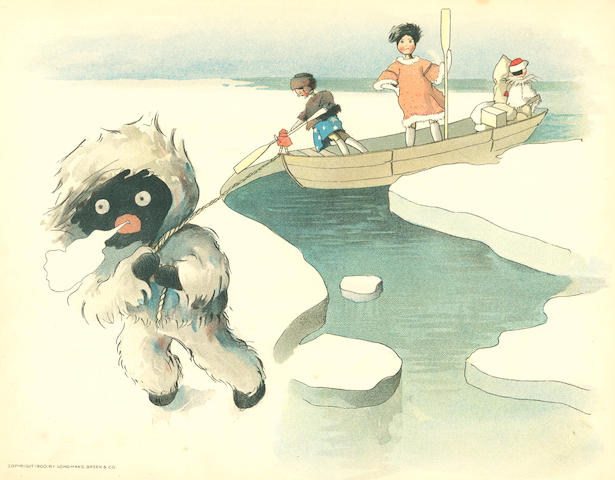 UPTON (FLORENCE AND BERTHA) Golliwogg's Polar Adventures; and 3 others (4)