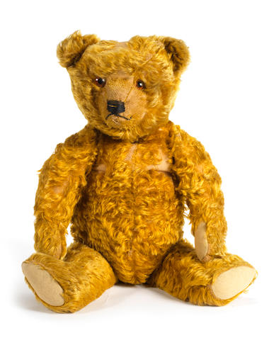 A good copper mohair Teddy bear