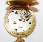 A half hunter pocket watch