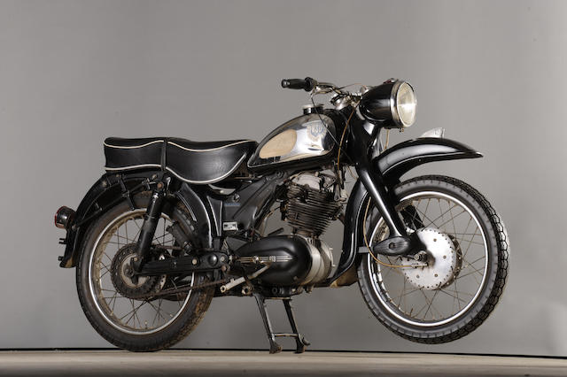 Offered from the Fabergé Museum in Baden-Baden, Germany,1962 NSU 247cc Supermax Frame no. 1844456 Engine no. 3238068