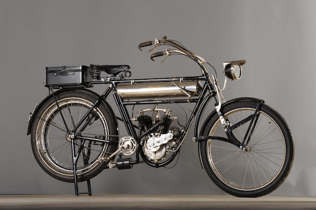 c.1910 Peugeot 660cc V-Twin Engine no. 25971