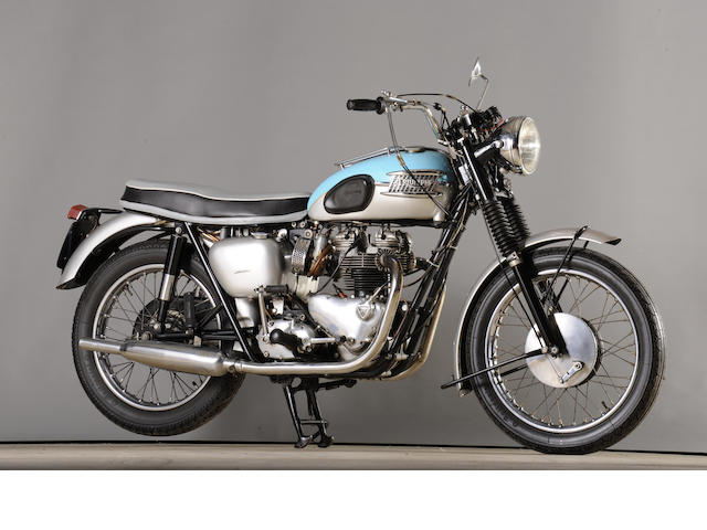 1961 Triumph 649cc T120R Bonneville Frame no. D9900 Engine no. D9900