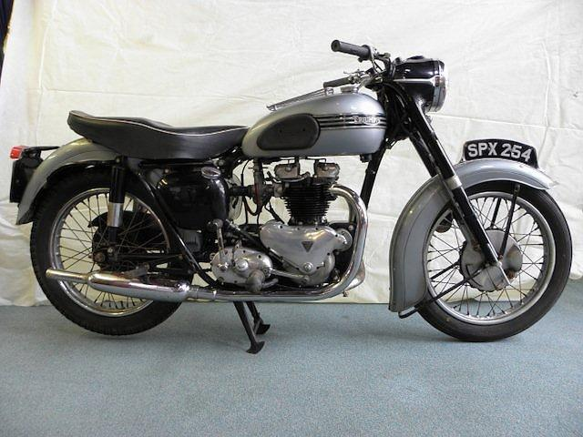 One owner, 4,550 miles from new,1955 Triumph 649cc Tiger 110 Frame no. 63495 (see text) Engine no. 63495 (see text)