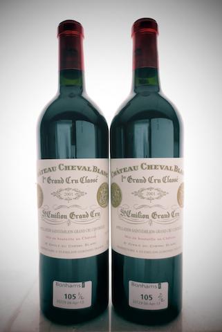 Chateau Cheval Blanc  2001 (2)