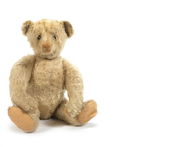 Rare centre seam Steiff Teddy Bear, German circa 1909
