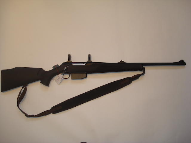 A .243 (Win) sporting rifle by Sauer, no. N31987