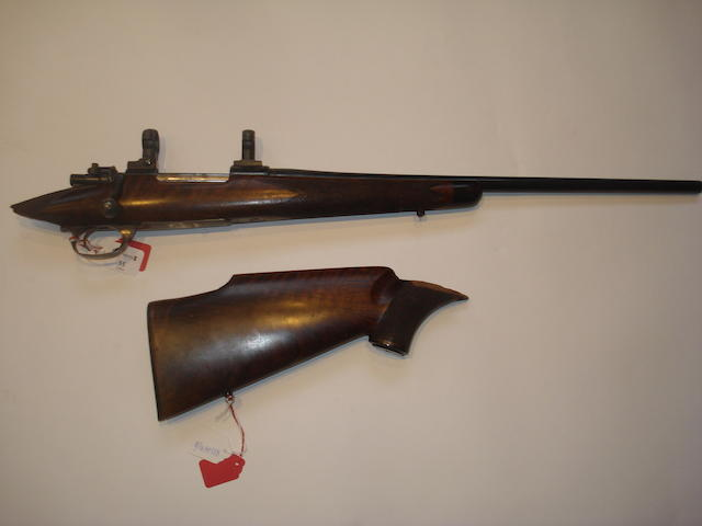 A 6.5x55(SE)mm Mauser sporting rifle by J. Rigby & Co., no. 6156