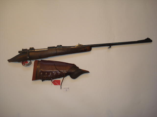 A .275 'High Velocity' Mauser sporting rifle by J. Rigby & Co., no. 1743/2622