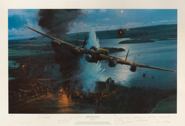'Operation Chastise (The Night They Breached The Dams)', after Robert Taylor,