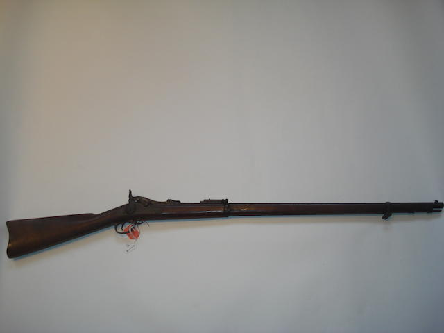 A .45-70 'Model 1888' trapdoor service rifle by Springfield, no. 559013
