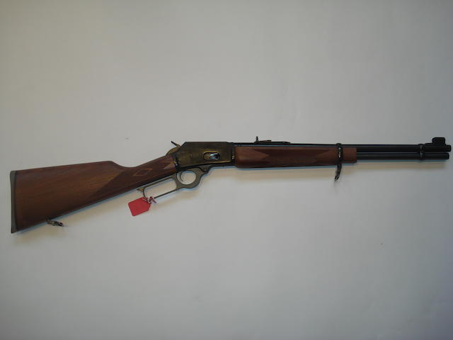 A .38(Spl.)/.357 (Mag) 'Model 1894C' underlever carbine by Marlin, no. 94034865