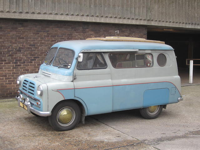 One owner from new,1957 Bedford CA Dormobile Camper Van  Chassis no. CAV89331