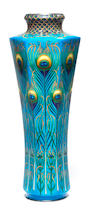 A cloisonné enamel vase  Attributed to Kawade Shibataro, late Meiji Period