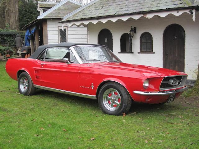 1967 Mustang 289 Convertible