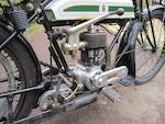 Property of the late Chris Thomas,1920 Triumph 550cc Model H Frame no. 310930 Engine no. 70925 HRX