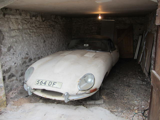 1961 Jaguar E-Type 'Flat Floor' Roadster Project, Chassis no. 850060 Engine no. R1229-9