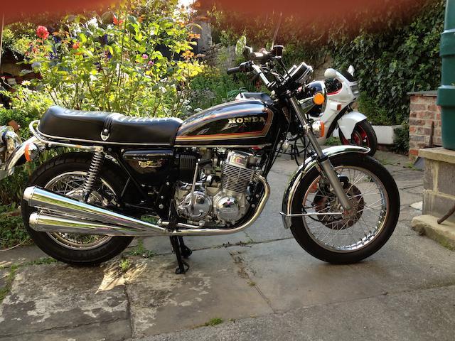 c.1976 Honda CB750K Frame no. CB750K-2708972 Engine no. CB750E-2708974