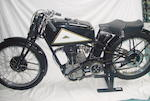 The ex-Rupert Leveson-Gower, Leslie Hawthorn,1935 Cotton-Blackburne 350cc Racing Motorcycle Frame no. TT24 Engine no. BTC 112