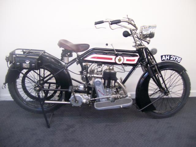 c.1915 Rover 500cc Frame no. 42741 (see text) Engine no. 6704