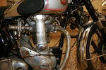 1950 BSA 350cc ZB32 Gold Star Frame no. ZB32GS 1034 Engine no. ZB32GS 1034