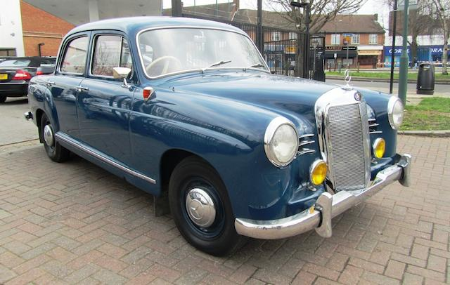 1958 Mercedes-Benz 180a Saloon, Chassis no. 1200108506015 Engine no. 1219238506112