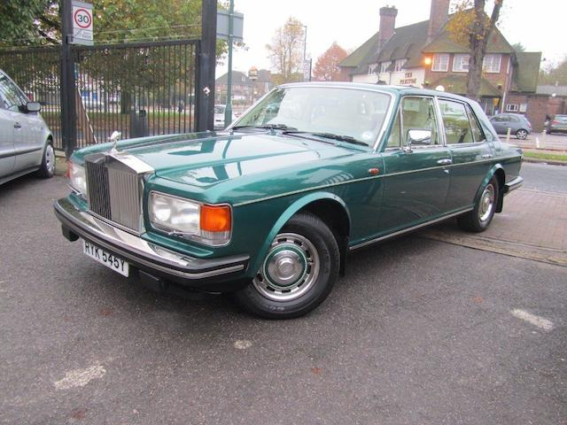 1983 Rolls-Royce Silver Spirit Saloon, Chassis no. SCAZS0000DCH07681