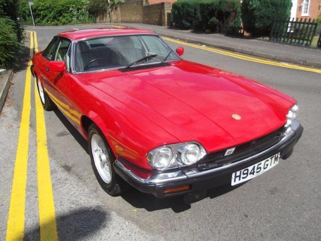 1991 Jaguar XJRS He Le Mans V12 Supercharged