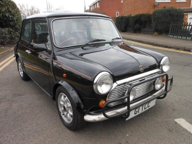 24,000 miles from new,1989 Mini '30' Limited Edition Saloon  Chassis no. SAXXL2S1N20438163 Engine no. 99HE200113426