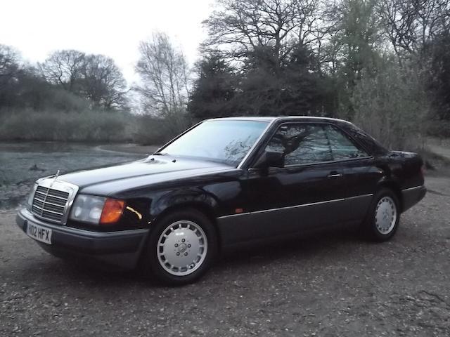1990 Mercedes-Benz 230CE Coupé, Chassis no. WDB1240432B295655 Engine no. 102982222178741