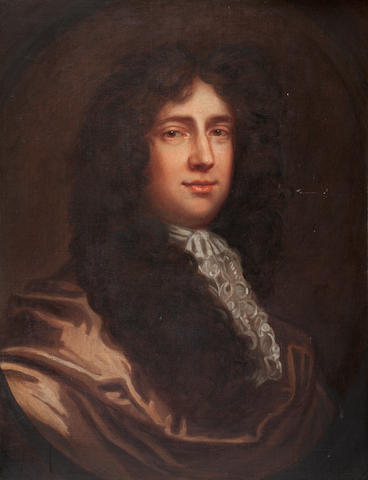 Follower of Sir Peter Lely (British, 1618-1680) Portrait of Sir John Huband, 1st Baronet of Ipsley, Warwickshire