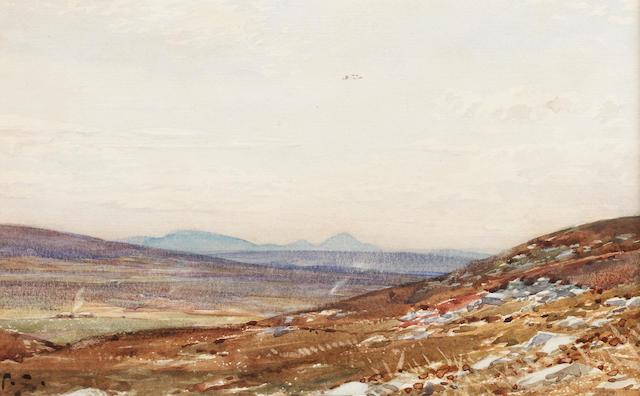 Tom Scott, RSA (British, 1859-1927) Morven from Caithness