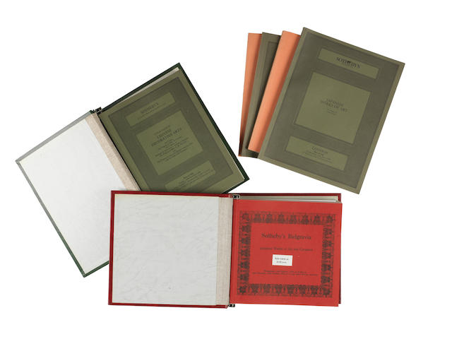 Auction catalogues mainly on Japanese art