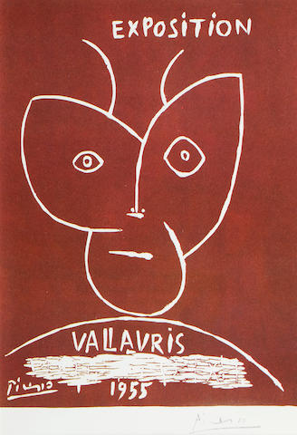 After Pablo Picasso (Spanish, 1881-1973) Exposition Vallauris 1955