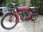 c.1921 Indian 7hp Powerplus Frame no. 87K579 Engine no. 72S428