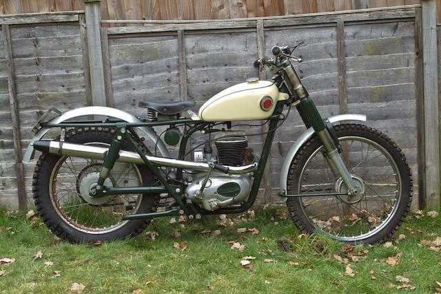 1961 Francis-Barnett 249cc Model 85 Trials Frame no. CCT-15980 Engine no. M25C 18812