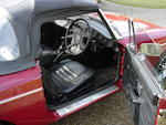 1979 MGB Roadster, Chassis no. GHN5-483414G Engine no. 29222
