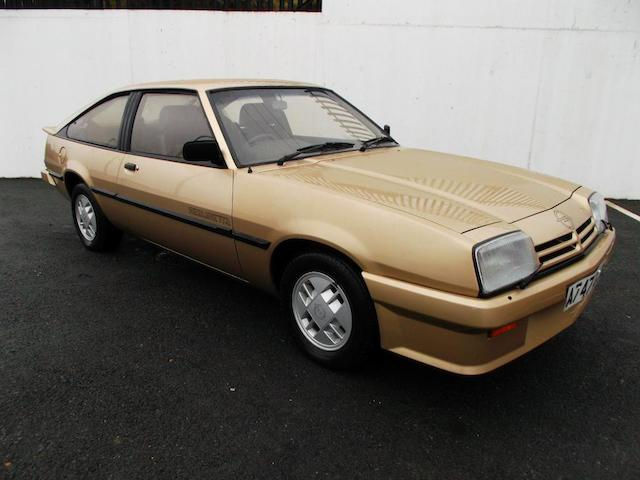 1984 Opel Manta 1.8S Berlinetta, Chassis no. 53E6097480