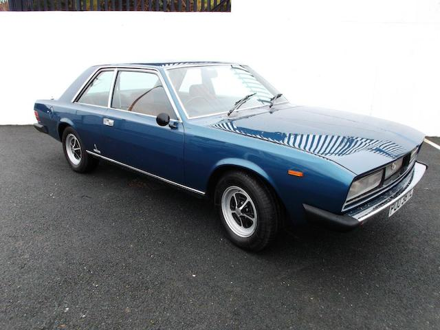 1973 FIAT 130 Coupé, Chassis no. 0001390