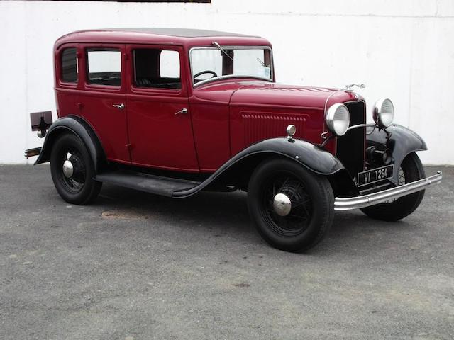 c.1932 Ford Model B Saloon, Chassis no. XDF519517 Engine no. 519517
