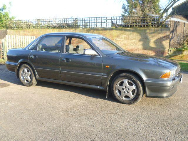 1993 Mitsubishi Sigma Sports Saloon, Chassis no. JMASRF16APY000127 Engine no. 6G72XK8249
