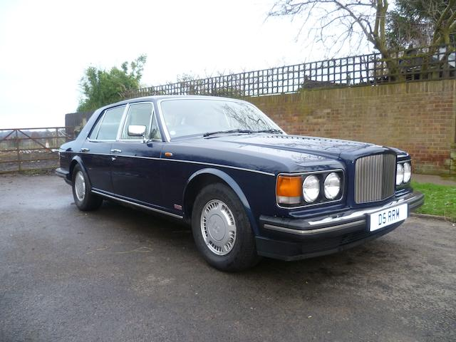 1986 Bentley Turbo R Sports Saloon, Chassis no. SCBZS0T01HCH20033 Engine no. 6004L410IT/8