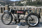 1907 NSU 460cc Frame no. 163550 Engine no. 11192