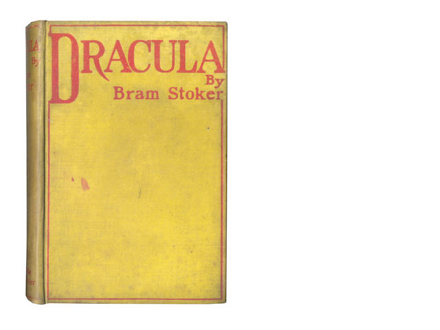 STOKER (BRAM) Dracula, FIRST EDITION, 1897